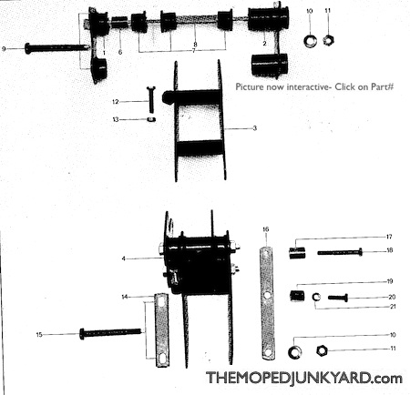 M48/M56 frames and parts ( 5 sub categories)