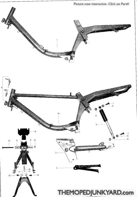 batavus M48 body parts (4 Subcategories)