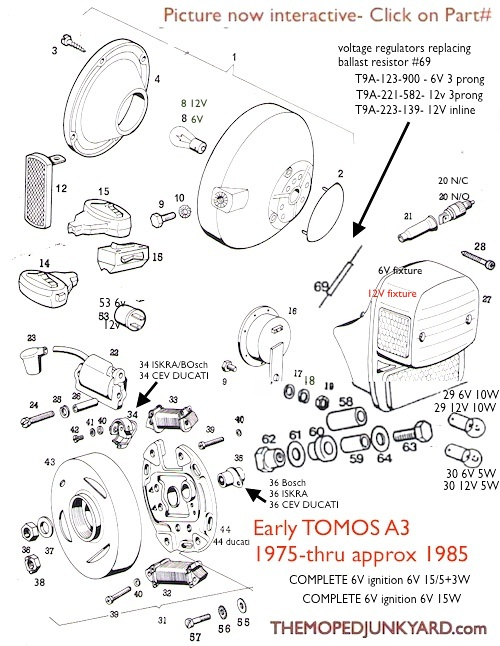 Tomos A3 Wiring Diagram : 23 Wiring Diagram Images