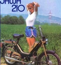 jawa 210 jawa moped wiring diagram  [ 862 x 1209 Pixel ]