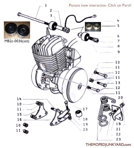 motobecane engine parts (3 Subcategories)