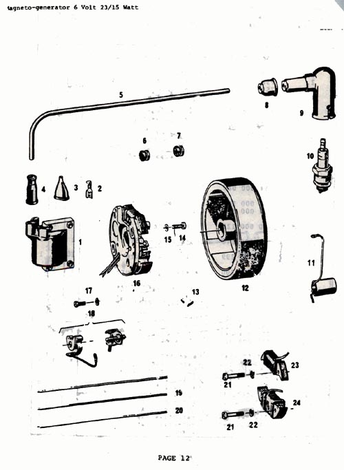 Sachs Moped Wiring Diagram. Diagram. Auto Wiring Diagram