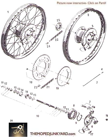 sachs wheel parts (4 Subcategories)
