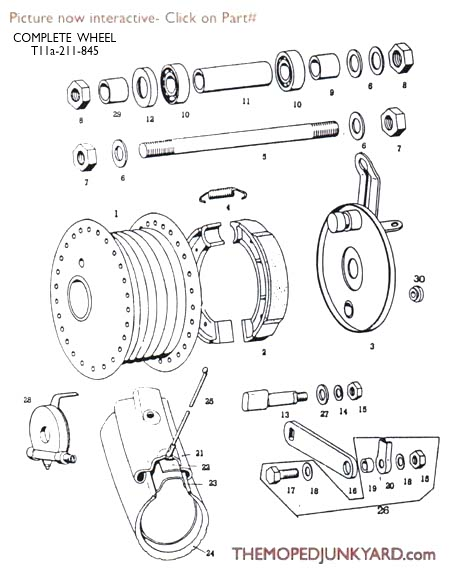 tomos a35 wiring diagram