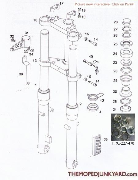 TOMOS fork & fork parts (5 Subcategories)