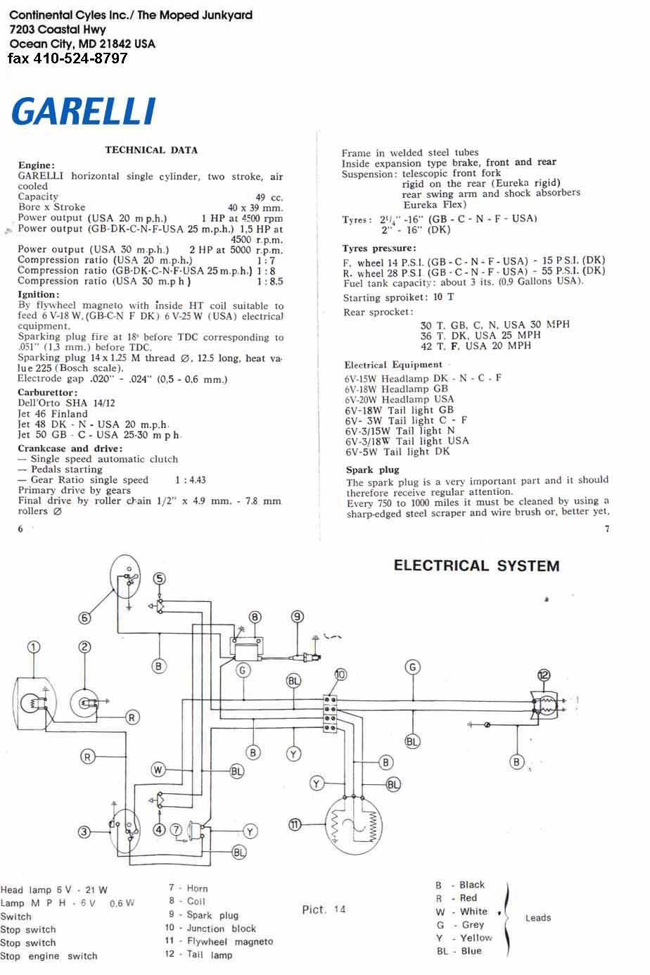 garelli wiring diagram 2007 kymco 150 wiring diagram Aermacchi Wiring Diagram