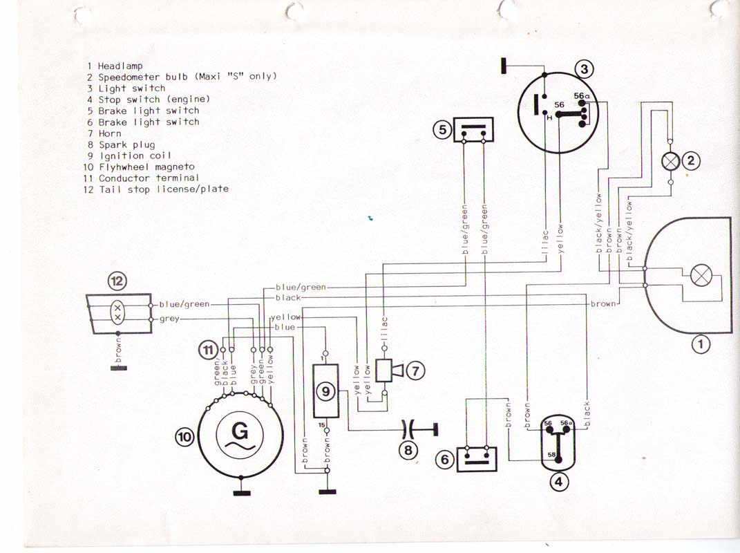 puch maxi wiring diagram newport free engine image for pioneer deh 1400 e50 murray elsavadorla