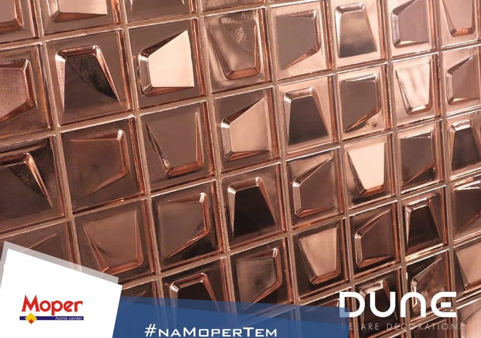 Revestimentos Dune 3D Cromo Rose
