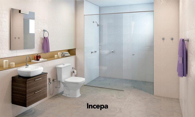Incepa tem tudo que precisa para seu banheiro! Moper Acabamento