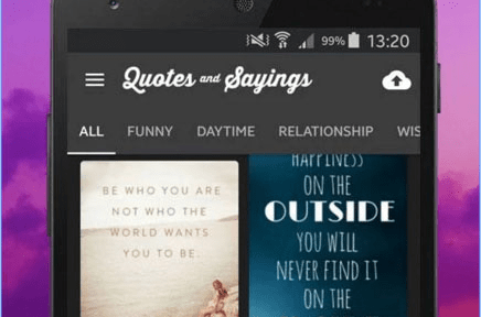 Quotes an Sayings Picture in Phone