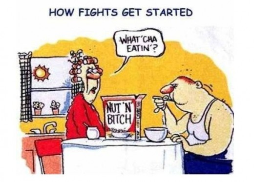 And that's how the fight started...