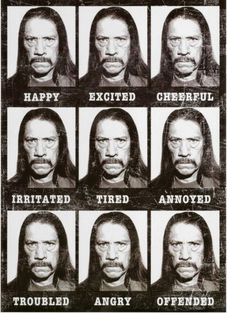The Many Faces of Danny Trejo