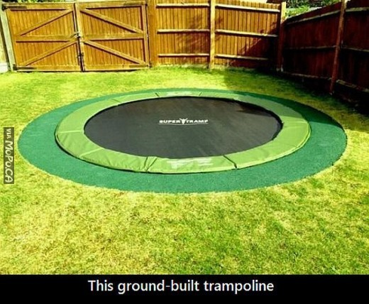 ground-trampolne