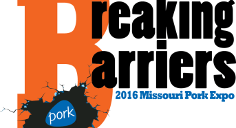 2016 Missouri Pork Expo Logo