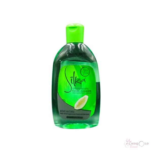 Lotion faciale tonifiante silka verte