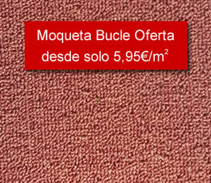 Moqueta bucle Oferta