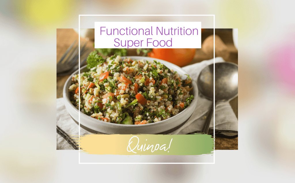 SUPERFOOD QUINOA-FUNCTIONAL NUTRITION