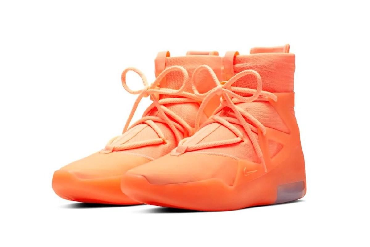 Nike Air Fear of God 1. Fotografía: Nike