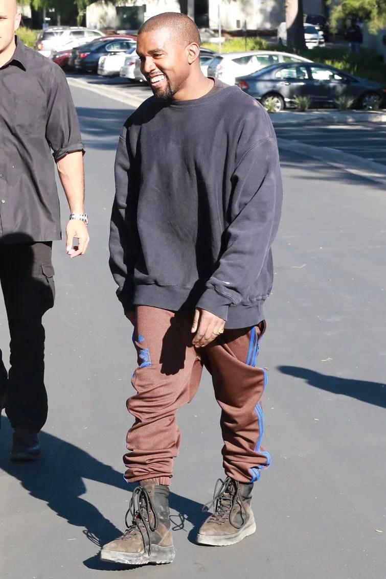 Kanye West. Fotografía: Splash News