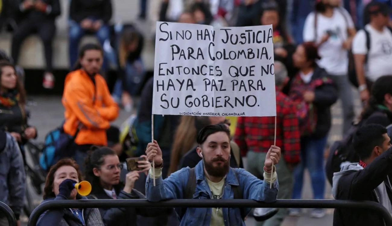Colombia: Se reactivan las protestas en contra de Iván Duque