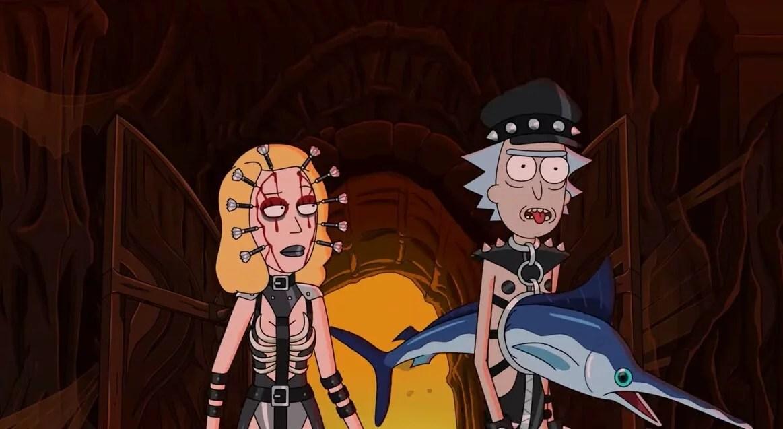 """El trailer de """"Rick and Morty"""" llega con nuevas aventuras y un multiverso de posibilidades para su quinta temporada"""