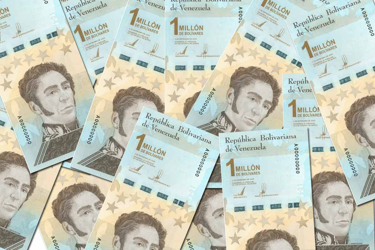 Venezuela: Banco Central emite billete de 1.000.000 de bolívares soberanos que equivale a 50 centavos de dólar