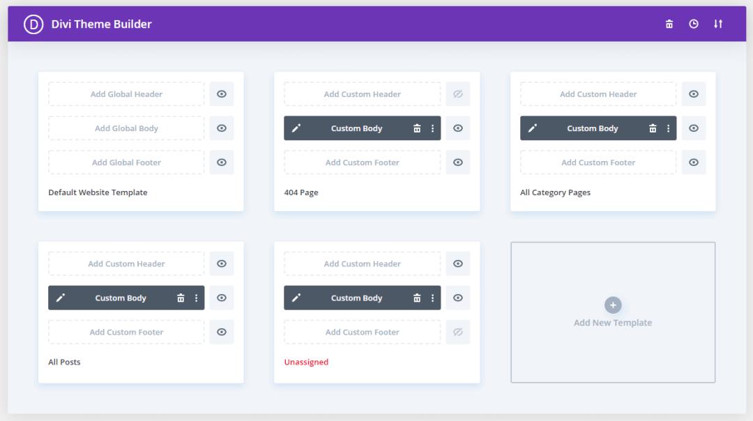 Divi theme divi builder options