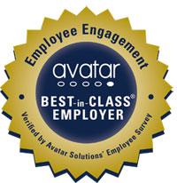 Avatar Employee Engagement - Best in Class Employer Seal