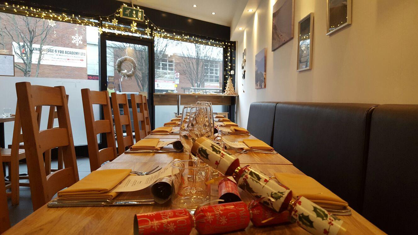 Christmas at Mora restaurant