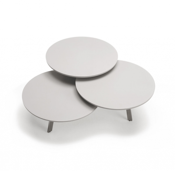 roxanne grey frosted glass coffee table