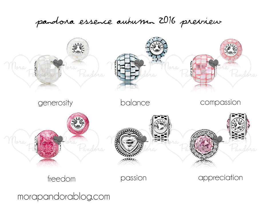 Pandora Essence Autumn 2016 Preview Mora Pandora