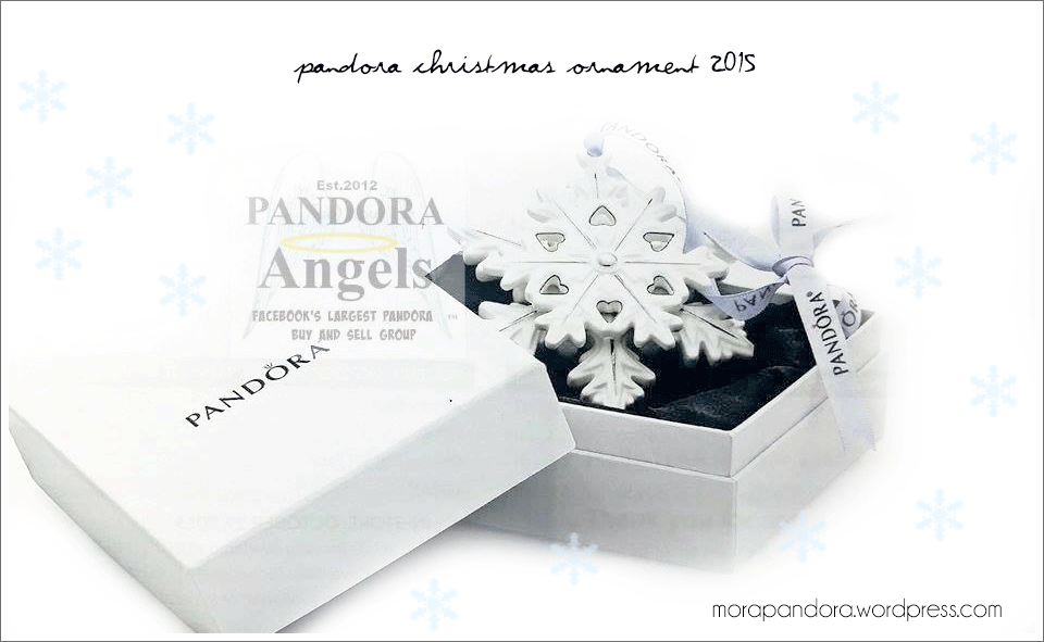 Pandora Christmas Ornament 2017 Sneak Peek | Mora Pandora