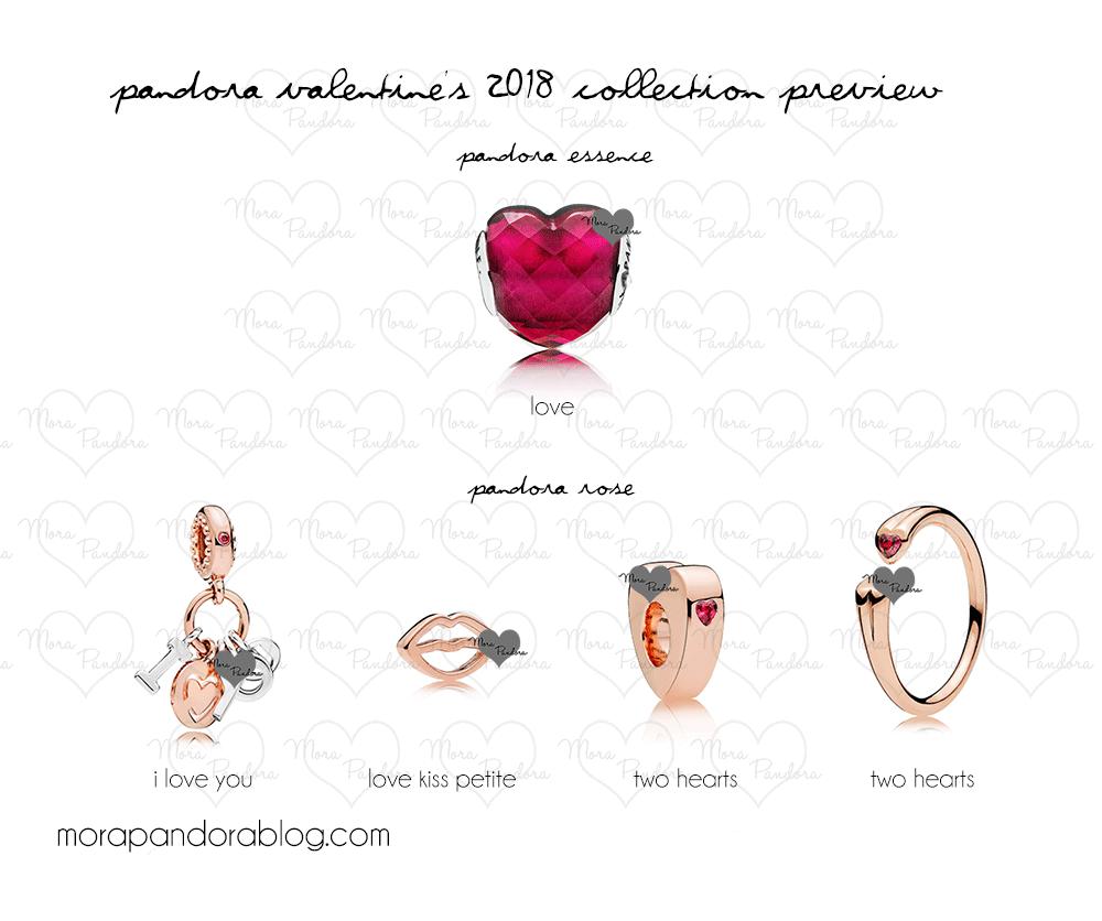 Pandora Valentines Day 2018 Collection Preview Mora Pandora