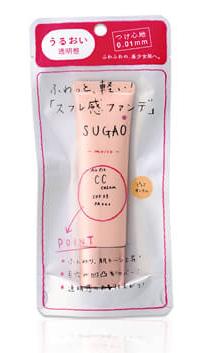 SUGAO エアーフィット CCクリーム モイスト(ピュアオークル)