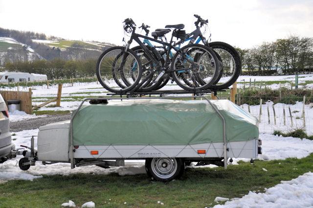 luggage racks ukcampsite co uk trailer