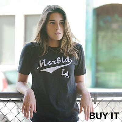 MORBID FIBER LA t-shirt