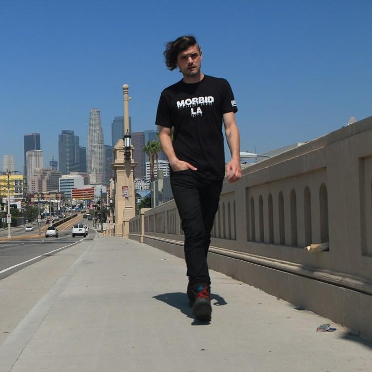 MORBID LA Streetwear Clothing Brand Los Angeles City Street Life Drip Tee