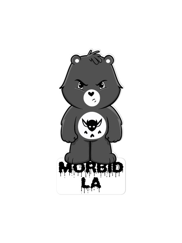 MORBID-LA-Streetwear-Clothing-Sticker-Decal-Mad-Bear-IMP