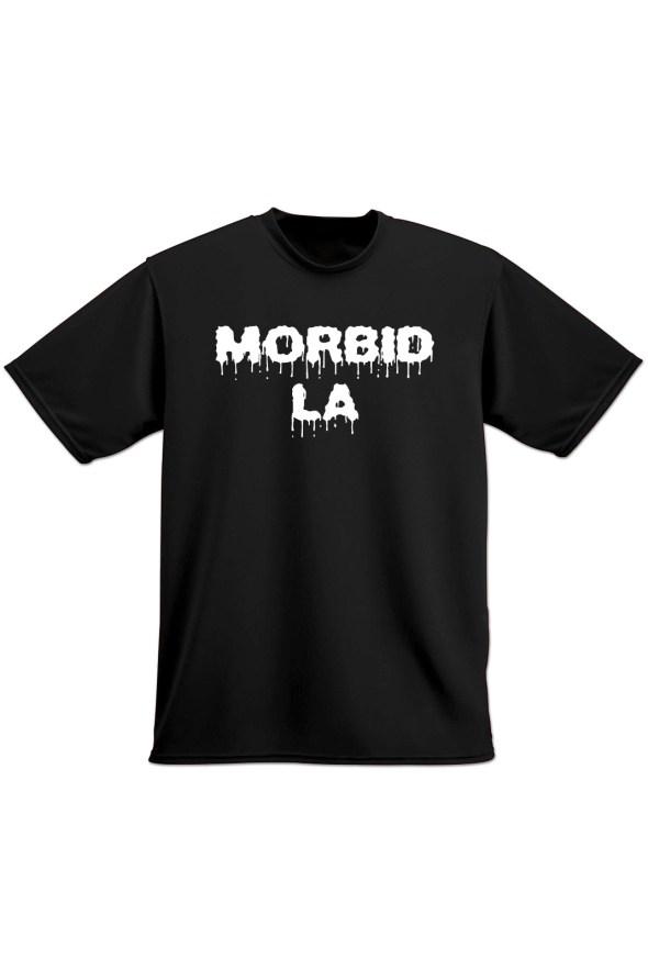 MORBID LA Streetwear Clothing Skater Style Black TShirt