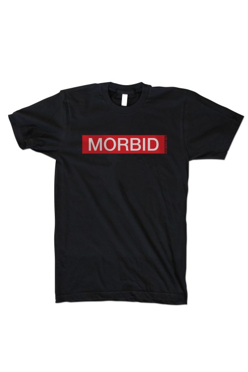 Morbid Fiber Los Angeles Clothing Streetwear Red Label Tee