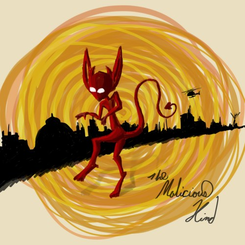 Morbid fiber The Malicious Red IMP
