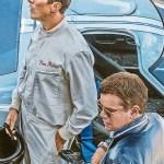 Christian Bale Matt Damon In Ford V Ferrari 2019 4k Ultra Hd Mobile Wallpaper