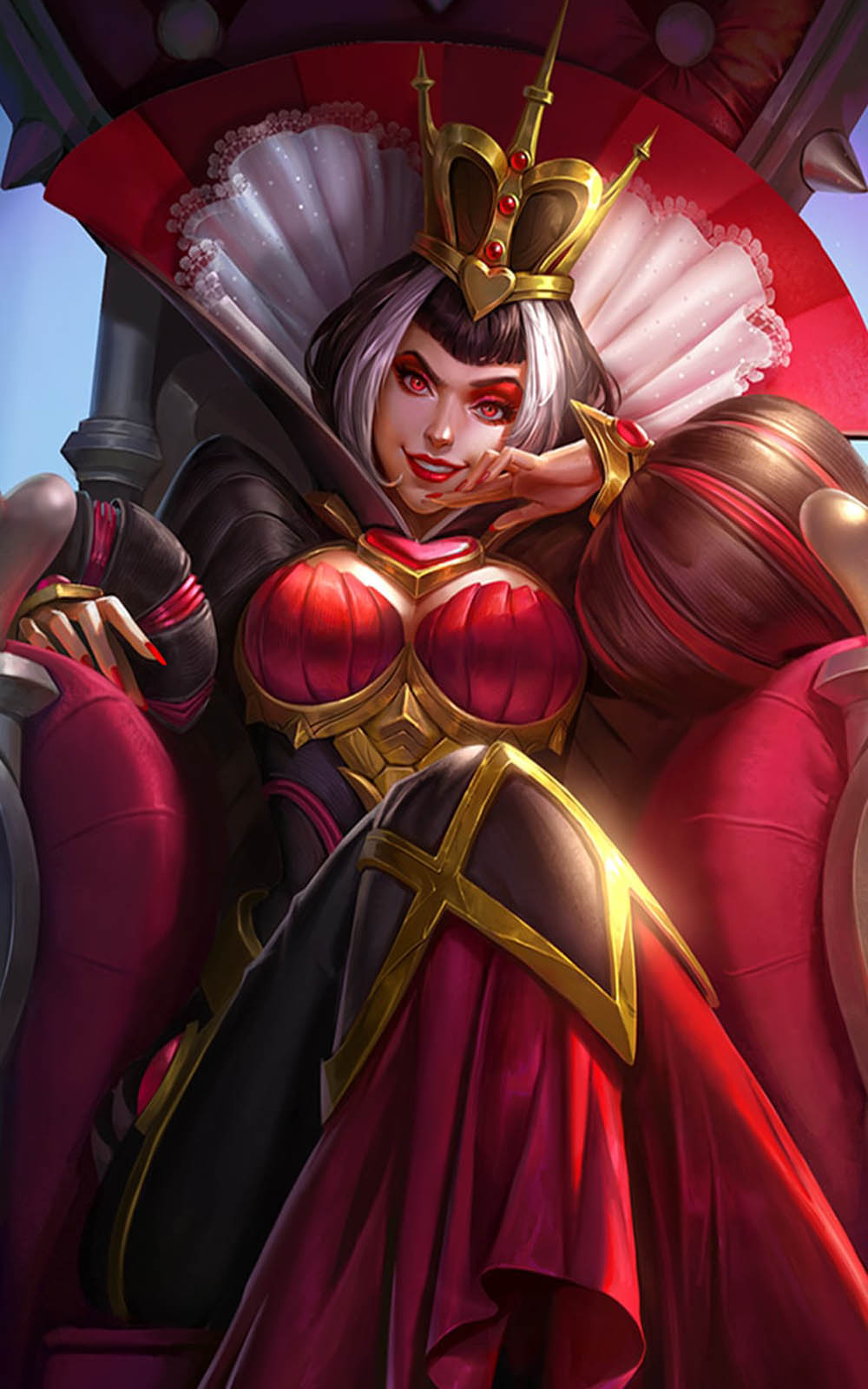 Wallpapers Girls Gamer Download Heartbreak Empress Aurora Mobile Legends Free