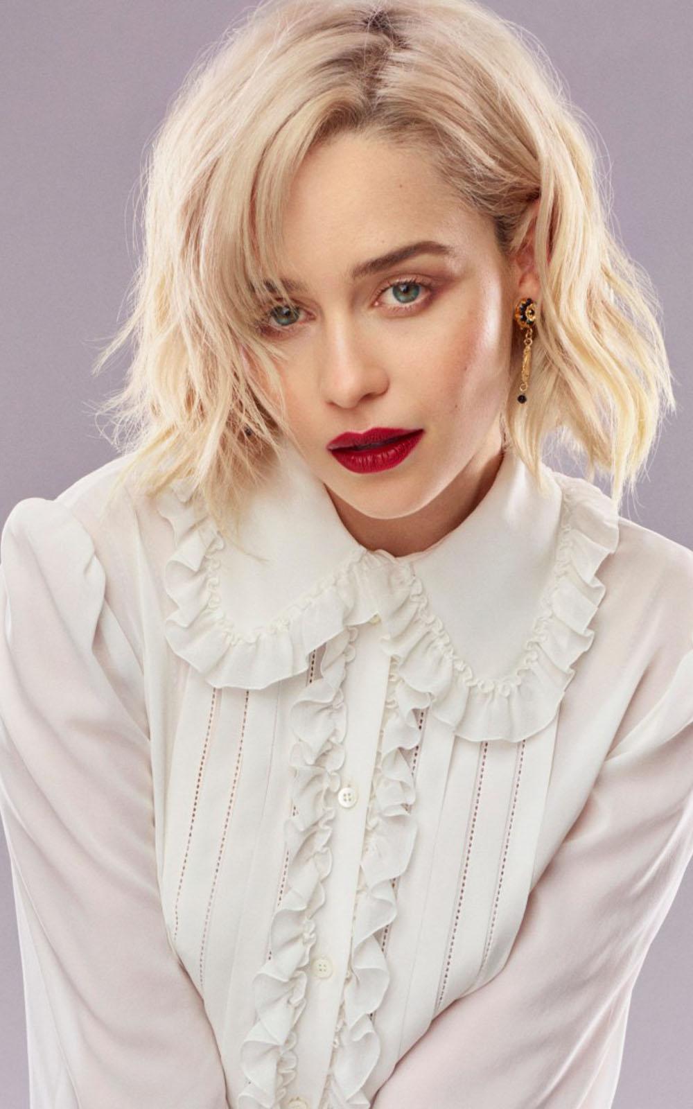 Siege Girls Anime Wallpaper Download Emilia Clarke 2018 Photoshoot Free Pure 4k Ultra