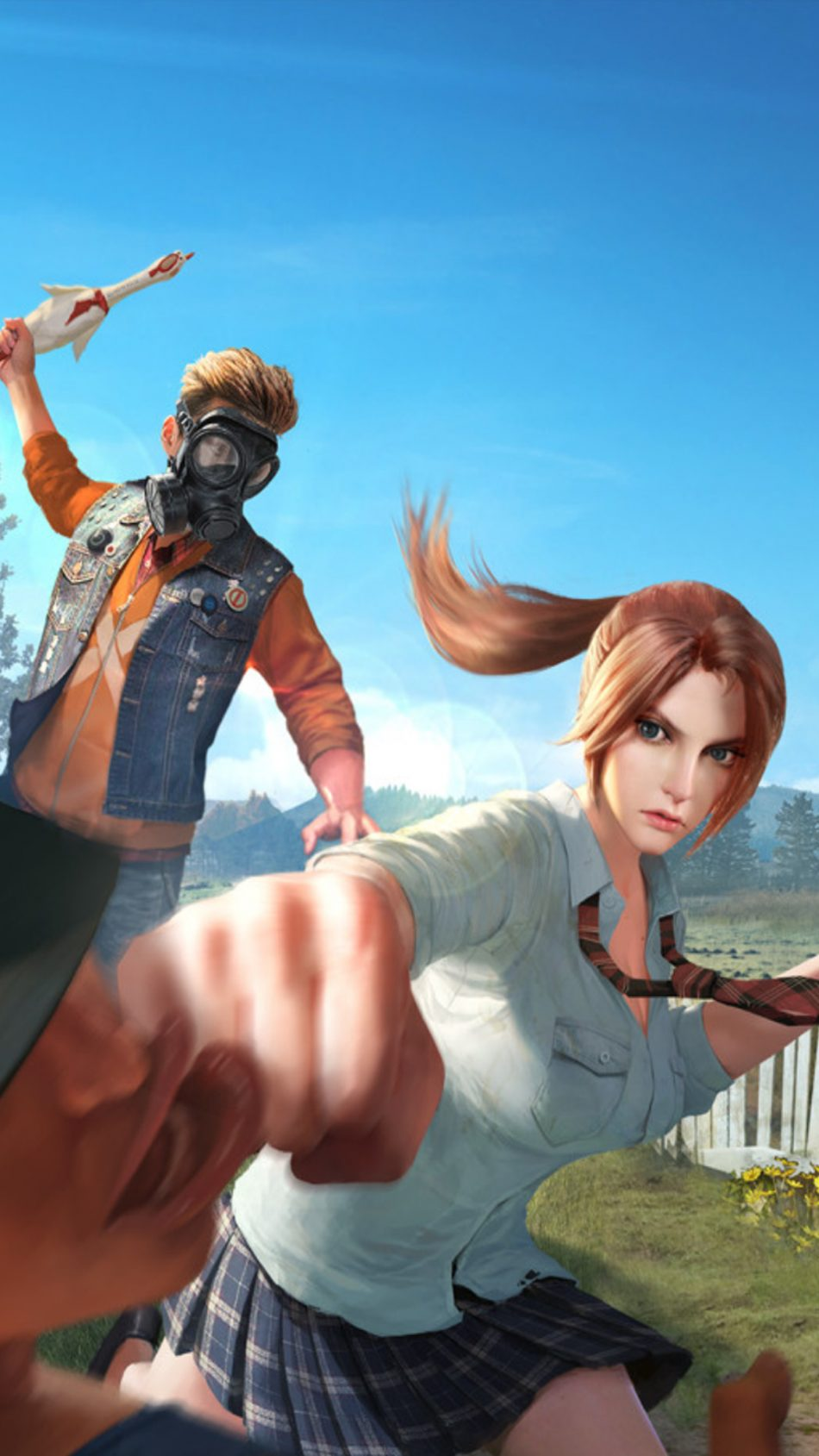 Anime Girl On Bike Wallpaper Download Rules Of Survival Video Game Free Pure 4k Ultra