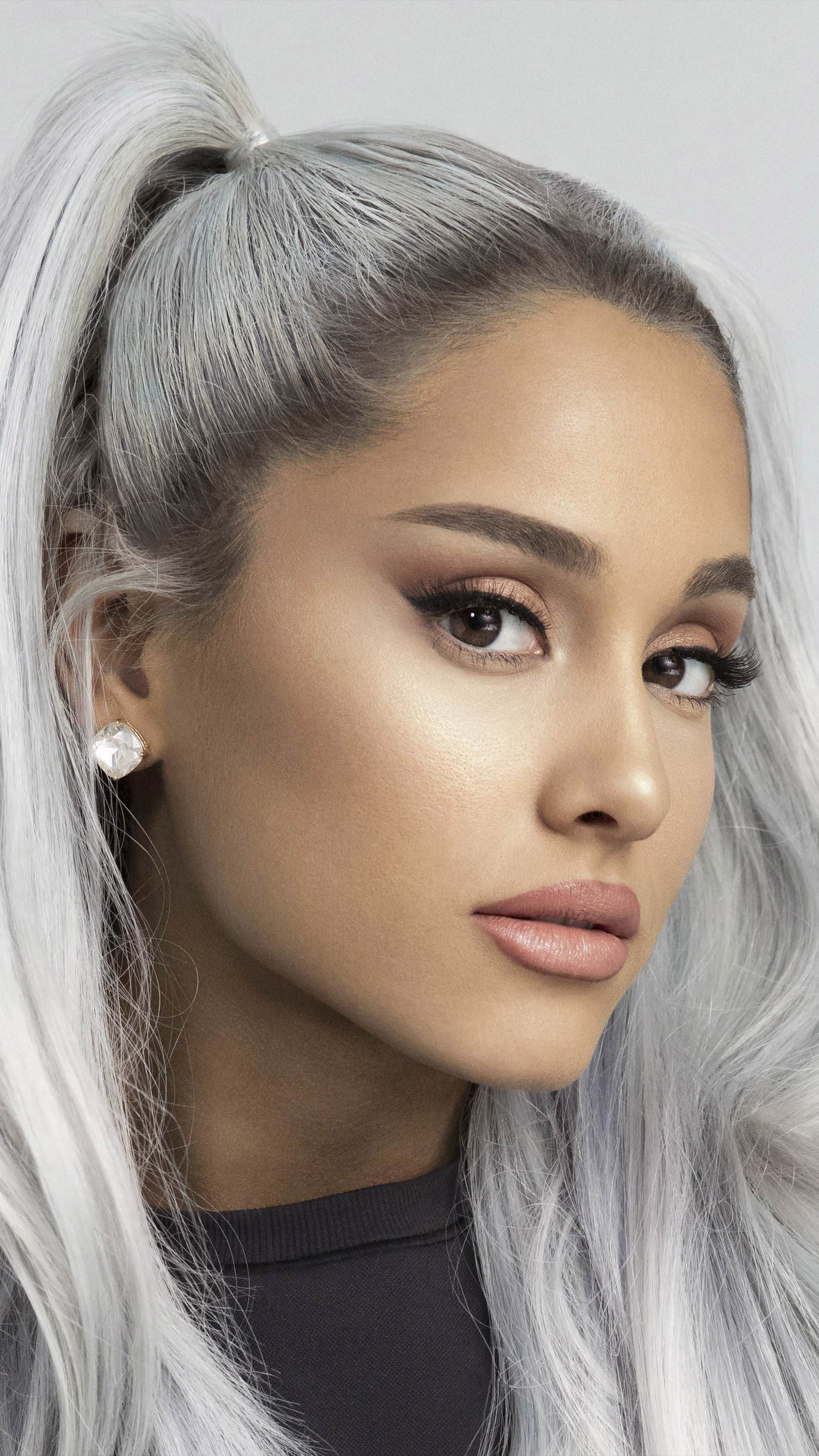 Cute Wallpapers For Phones For Free Download Singer Song Writer Ariana Grande Free Pure 4k