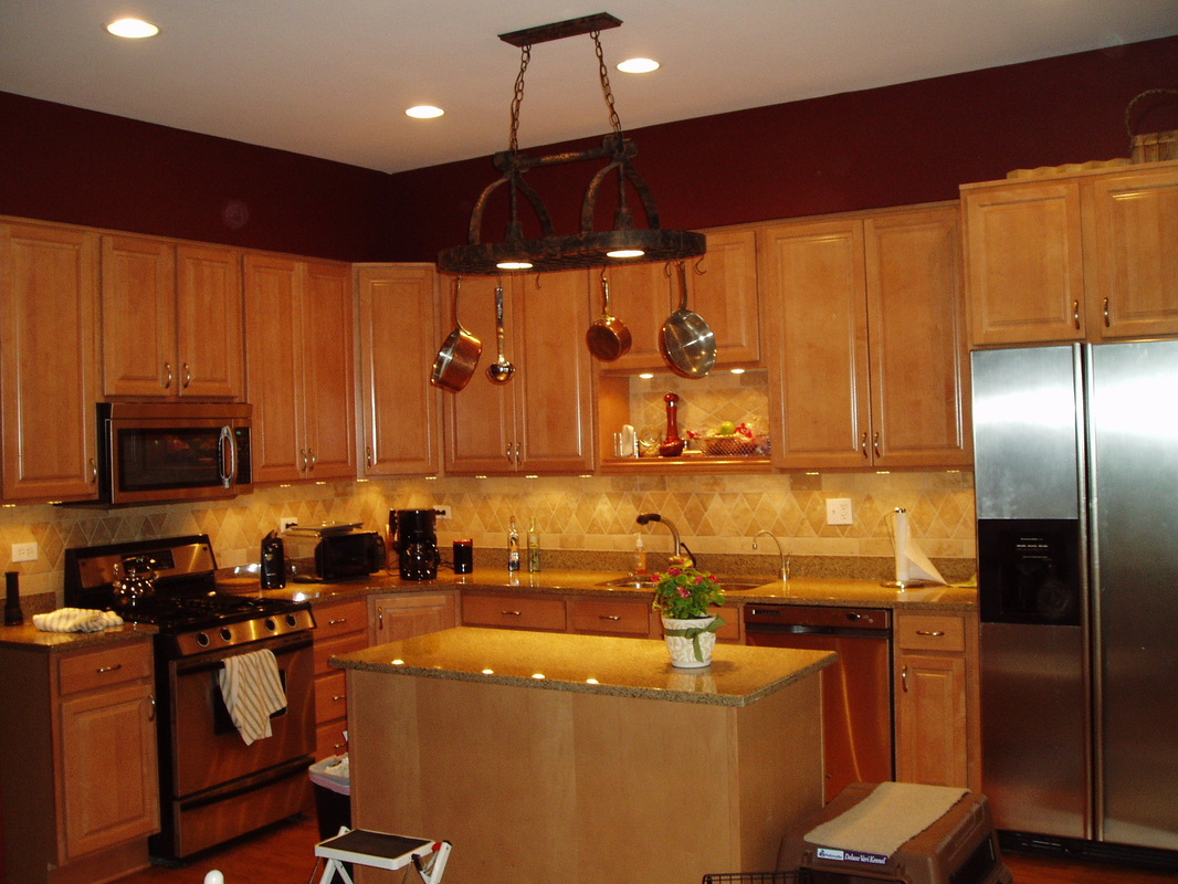 hickory kitchen island brass pulls 847-535-9779 - mordini general contracting