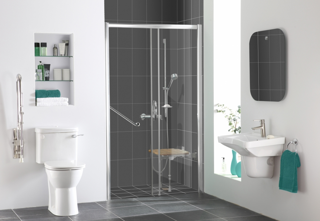 Easy Access Shower Rooms at More Bathrooms Leeds