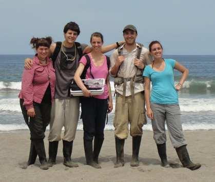 Moreau Lab in Costa Rica – June 2012