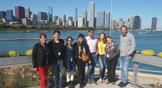 Group photo, Moreau Lab, October 2018